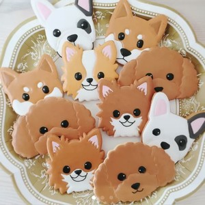 犬・猫クッキー(1枚)
