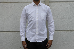 WORKERS / Narrow Round Collar Shirts