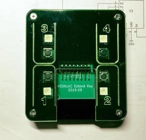 M5StickC用拡張キーデバイス4 - M5STICKC-4KEY