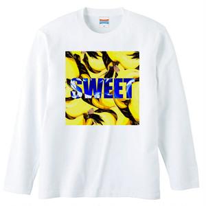 [ロングスリーブTシャツ] sweet banana