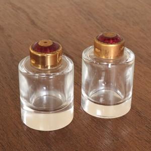 アンティーク 海外製 ガラス スパイスボトル