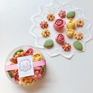 鹿児島県産フルーツ使用お花のクッキーBOX