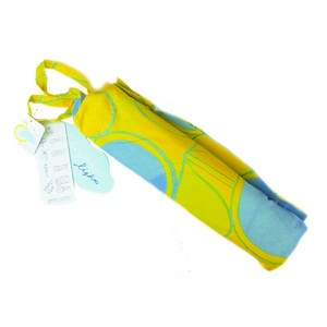 折りたたみ傘 カラフルレシオ 水玉イエロー