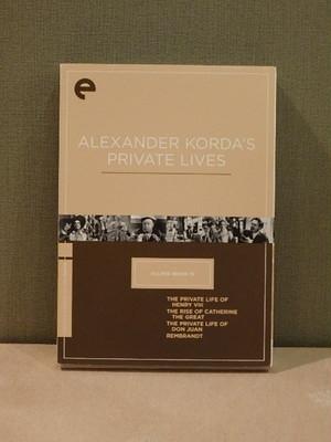 【dvd】ALEXANDER KORDA'S PRIVATE FILMS/アレクサンダー・コルダ(ALEXANDER KORDA)