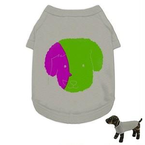 犬TシャツC*飼い主さんとおそろい*