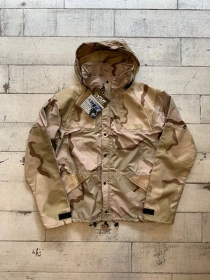 DEAD STOCK / TACTICAL & SURVIVALS SPECIALTIES INC / WET WEATHER PARKA / EVENT FABRICS / DESERT CAMO デッドストック タクティカル&サバイバル ウェットウェザーパーカー