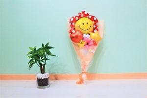 卒業式、卒園式、修了式等に バルーンバンチH(花束タイプ) 送料込み 引き取りの場合2,700円