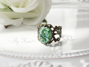 *:§ Green Opal §:*ヴィンテージ・レーシーリング。