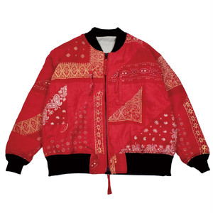 ANVIL PATCHWORK BLOUSON