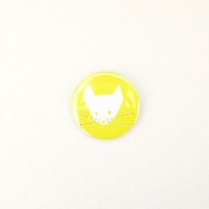 /// 缶バッジ /// yellow cat