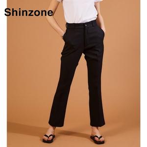 THE SHINZONE/シンゾーン ・クロップドフレアーパンツ