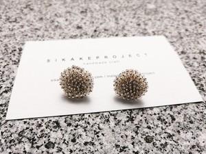 ● 受注生産 / beads embroidery pierce / earring 14