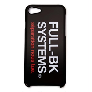 FULL-BK - (7 / 8) SYSTEMS iPhone CASE  -
