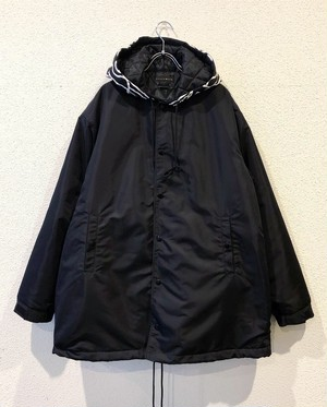【19003】NYLON HOODED COACH JACKET