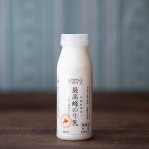 宇野牧場史上 最高峰の牛乳 に辿り着きました。200ml