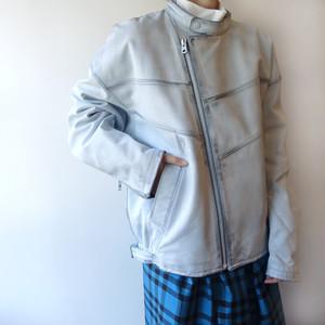 08sircus / leather jacket
