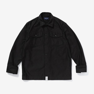 DESCENDANT D-61M SATIN LS SHIRT / 191TQDS-SHM02