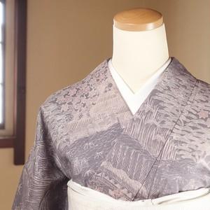 茶屋辻文様(163.5cm・67cm) 正絹紬【1626】