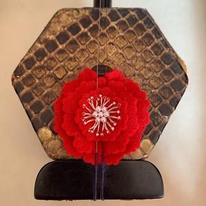 赤花のコントロールマスコット【LH005】