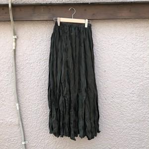 ウェーブロングスカート カラー: Khaki
