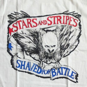 """STARS AND STRIPES """"Shaved For Battle"""""""