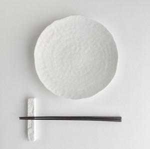 石目鉢皿 7寸 白