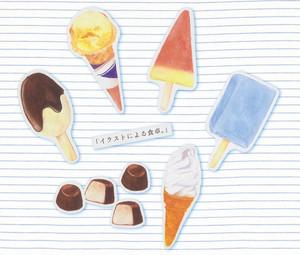 【ステッカー】アイスクリーム詰め合わせ!