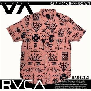 BA042121 ルーカ 新作 半袖シャツ ショートスリーブシャツ メンズ ギフト おしゃれ 通販 人気 ブランド ブラッシュピンク M L RVCA