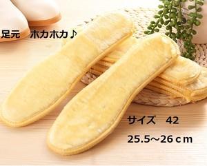 男女兼用☆サイズ 42 (約25.5~26cm)フカフカ♪ インソール中敷きサイズ豊富 koab069
