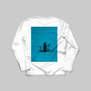 impromptu__ 雪 Long T-Shirt (White)