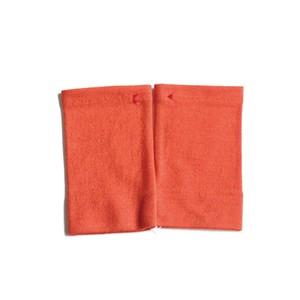 佩 リストマフラー(C/#07 キャロット) ウール100%で手首暖か