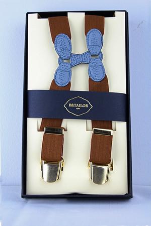 B&Tailor Suspender -Brown サスペンダー