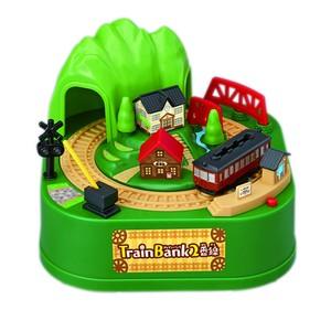 トレインバンク2番線 電車 <Train coin bank Tram version>