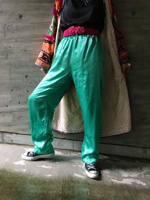 Vintage metalic green pants ( ヴィンテージ  メタリック グリーン パンツ )