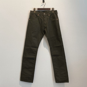 REGULAR TIGHT STRAIGHT PANTS  <OX> (OLIVE) / GERUGA