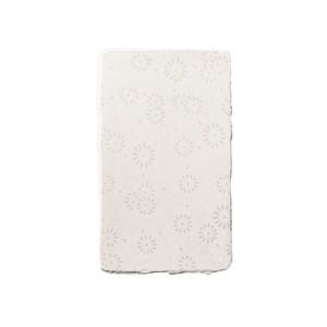 【手漉き和紙〈小菊〉】4号サイズ 和紙名刺 / メッセージカード