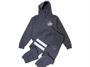 SET UP【STAR logo sweat 】/ charcoal gray