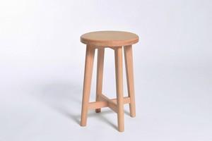 日本の木のこしかけ Stump (H)