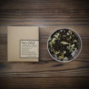 No.062 烏龍茶それとクローブとオールスパイス