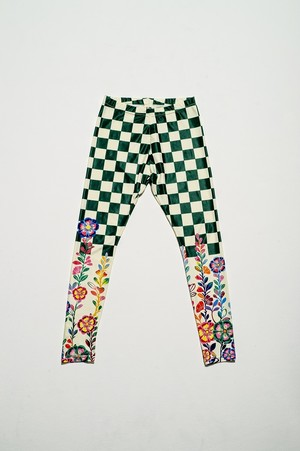 Walter Van Beirendonck for FlowerMOUNTAIN 2020/6B GREEN LEGGINGS GIRL