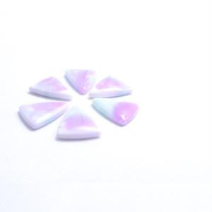 単価¥60 二等辺三角形のグラデーションパーツ(紫)