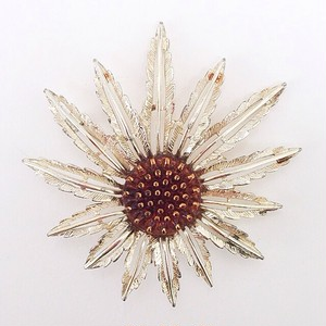 """Sarah Coventry"" starburst brooch[b-89]"