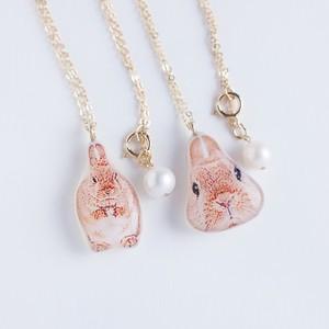 うちの子 * ネックレス(50cm) K14gf 本真珠
