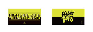 『ツアーステッカー』ワンマンライブ -YELLOW BEAMS TOUR OFFICIAL GOODS-(2018年2月〜5月)