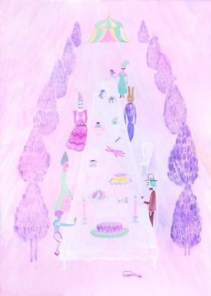 【2-9】 関川恵 「garden party」