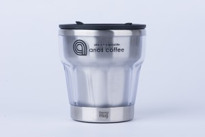 anos coffee tumbler (shot) cleargray