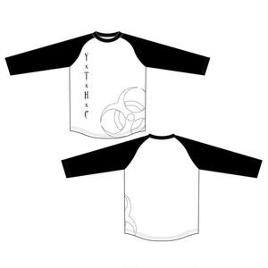 ゆくえしれずつれづれ Y×T×H×CラグランTシャツ