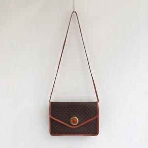 CELINE macadam shoulder & clutch bag