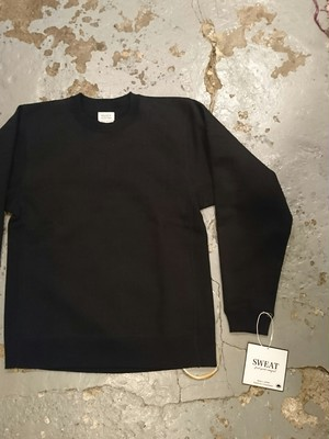 "WASEW ""TOUGH BRAIDED SWEAT SHIRT"" Black Color"