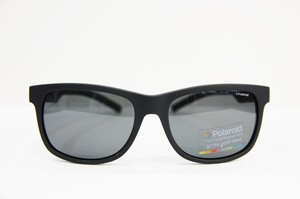 Polaroid 偏光サングラス PLD6015/F/S YYVY2 フレーム/ブラック レンズ/グレー